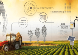 Agricultural Weather Stations in Climate Smart Agriculture 2